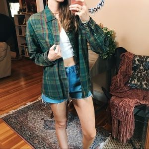 Tops - Vintage Boston Traders perfect fall comfy flannel